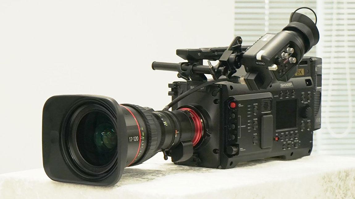 شارب تعلن عن كاميرة 8C-B60A السينمائية بجودة تصوير 8K