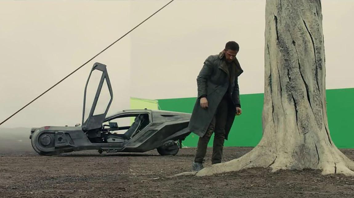 قبل وبعد المؤثرات البصرية في فيلم Blade Runner 2049