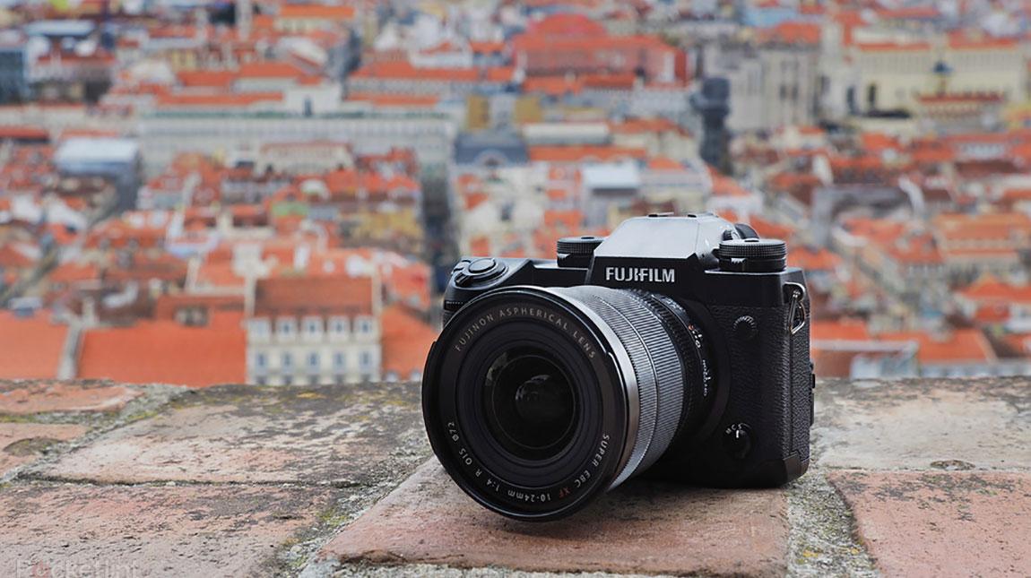 فوجي فيلم X-H1 كاميرة ميرورليس لصناع الأفلام من فوجي