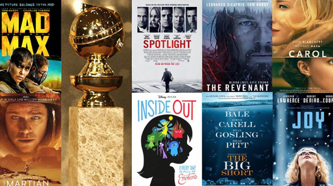 ترشيحات غولدن غلوب 2016