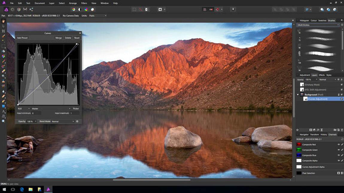 برنامج Affinity Photo البديل عن فوتوشوب متاح الآن على ويندوز