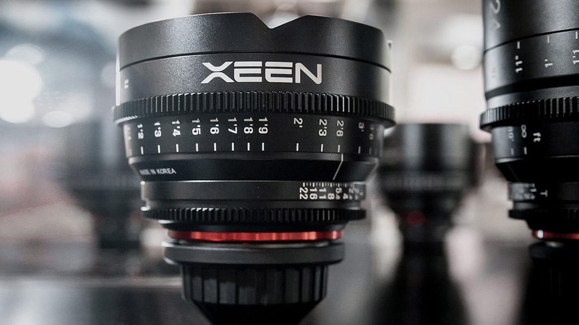 عدسة Xeen 16mm من ساميانغ بالاضافة الى روكينون 35 ملم