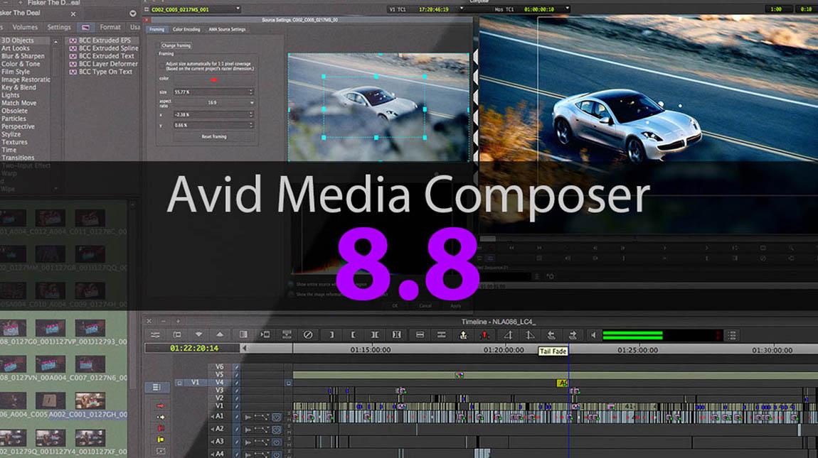 افيد تطلق الاصدار الجديد من برنامج المونتاج ميديا كومبوزر 8.8