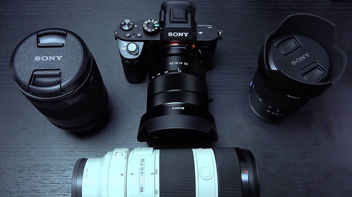 كاميرات سوني A7R II