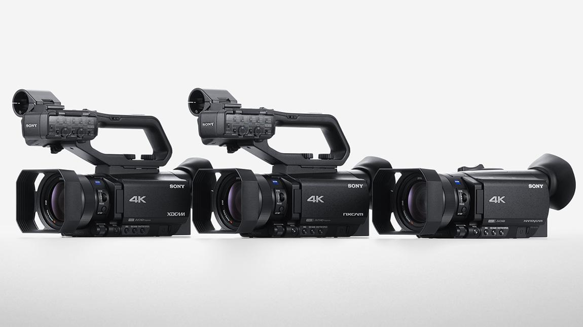 كاميرات XDCAM