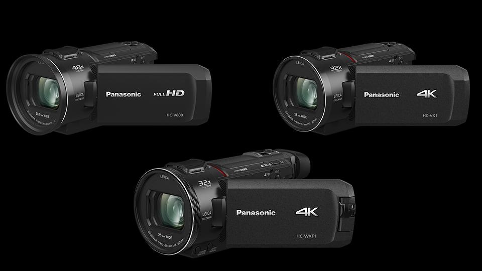باناسونيك تطلق 3 كاميرات جديدة لتصوير الفيديو