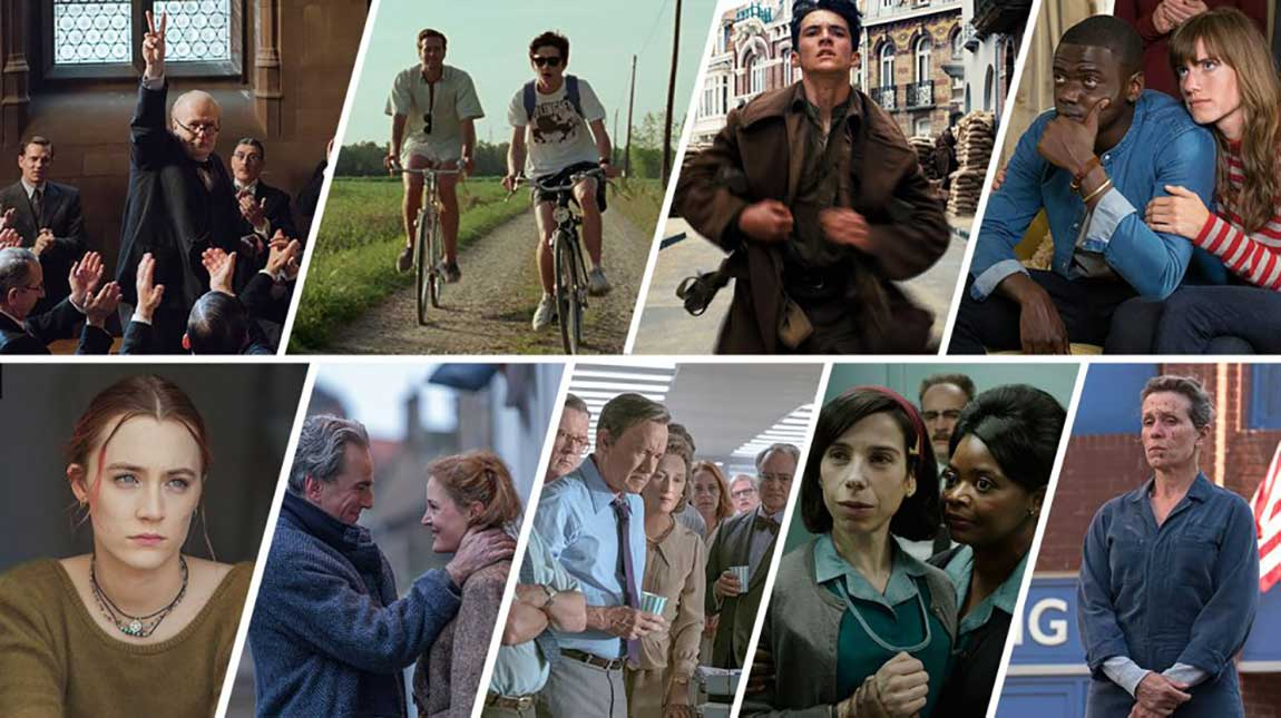 الأوسكار 2018 منافسة ملتهبة على جائزة افضل فيلم