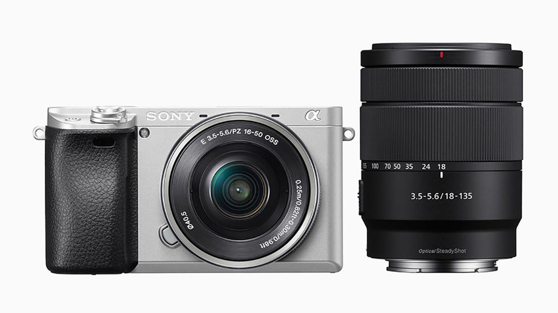 سوني تطلق عدسة زووم جديدة بالإضافة لـ كاميرة a6300