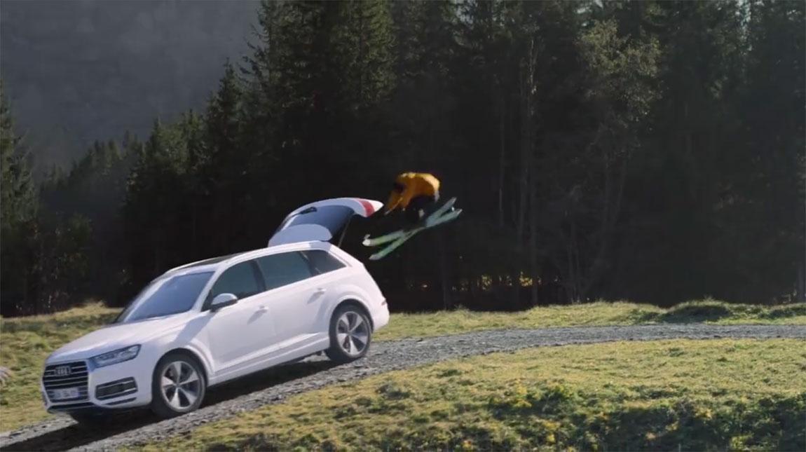 فيديو مثير لكيفية تصوير إعلان سيارة أودي كواترو الجديدة