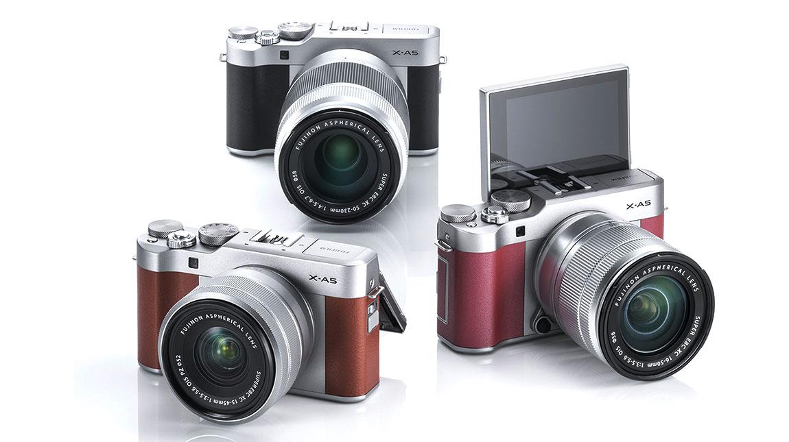 فوجي فيلم X-A5 كاميرا ميرورليس جديدة من فوجي بجودة 4K
