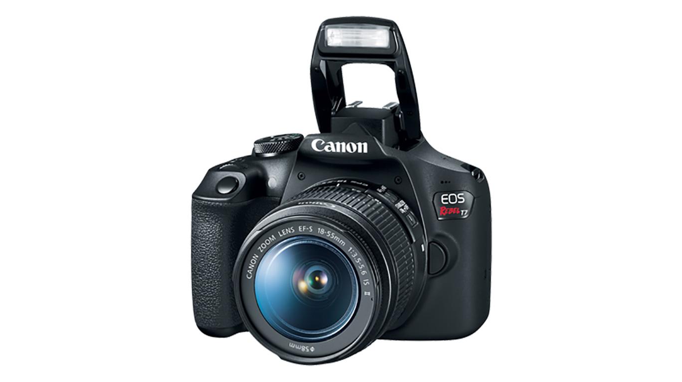 الإعلان عن كاميرة كانون T7 بوضوح 24 ميجا بيكسل