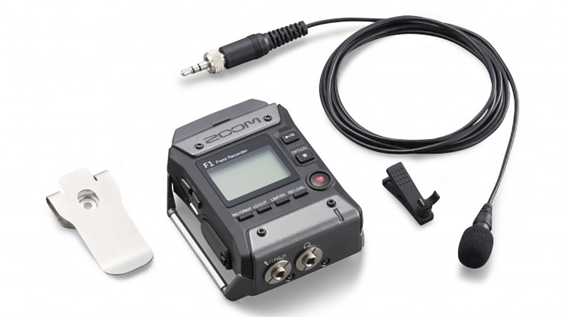 زووم F1 جهاز تسجيل الصوت المحمول لصناع الأفلام