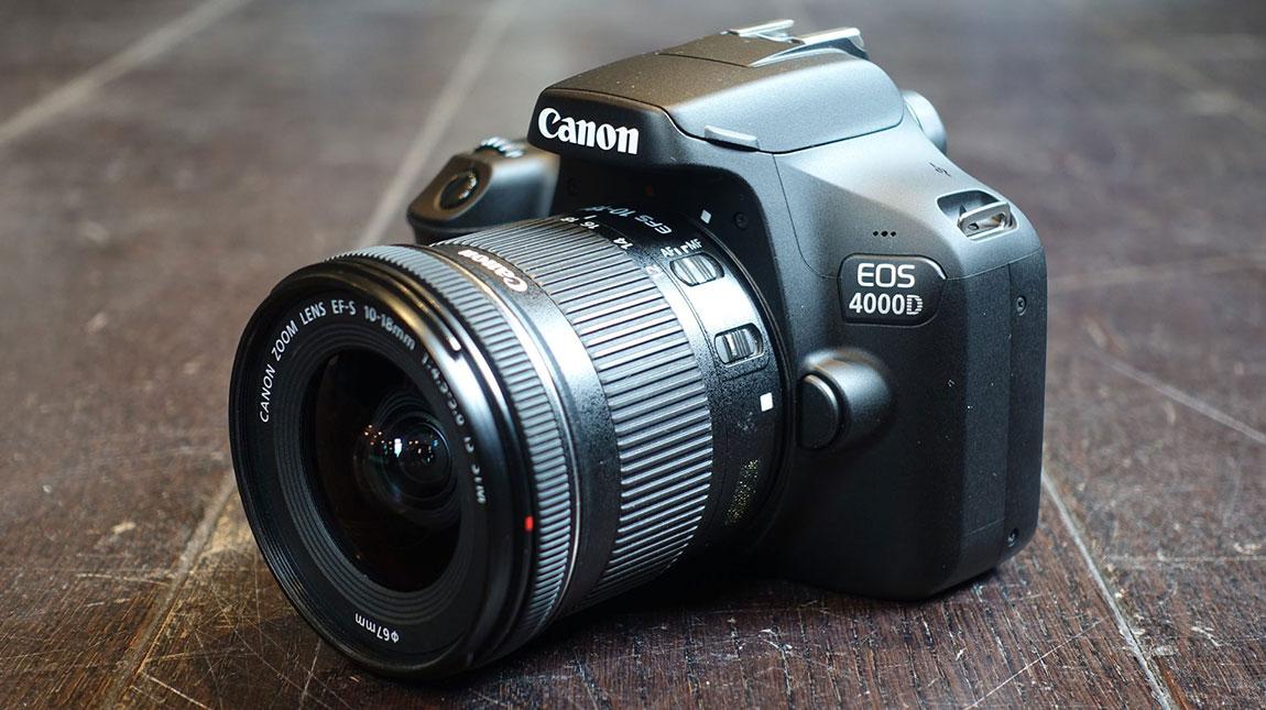 إطلاق كانون 4000D أرخص كاميرا DSLR على الإطلاق