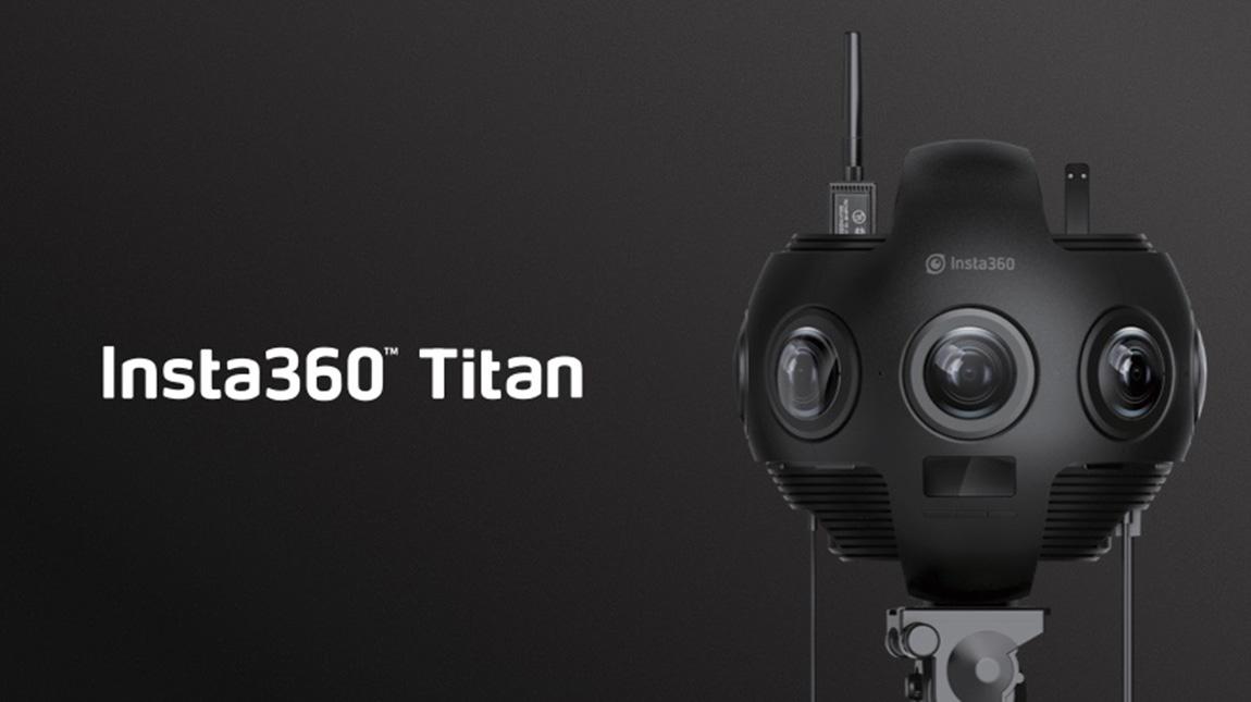 الإعلان عن كاميرة Titan لتصوير 360 درجة بجودة 10K