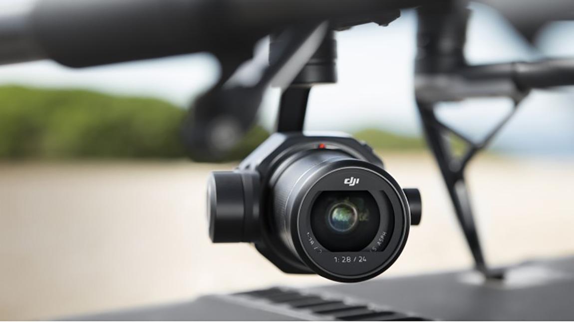 كاميرا Zenmuse X7 من دي جي آي تدعم صيغة ProRes RAW