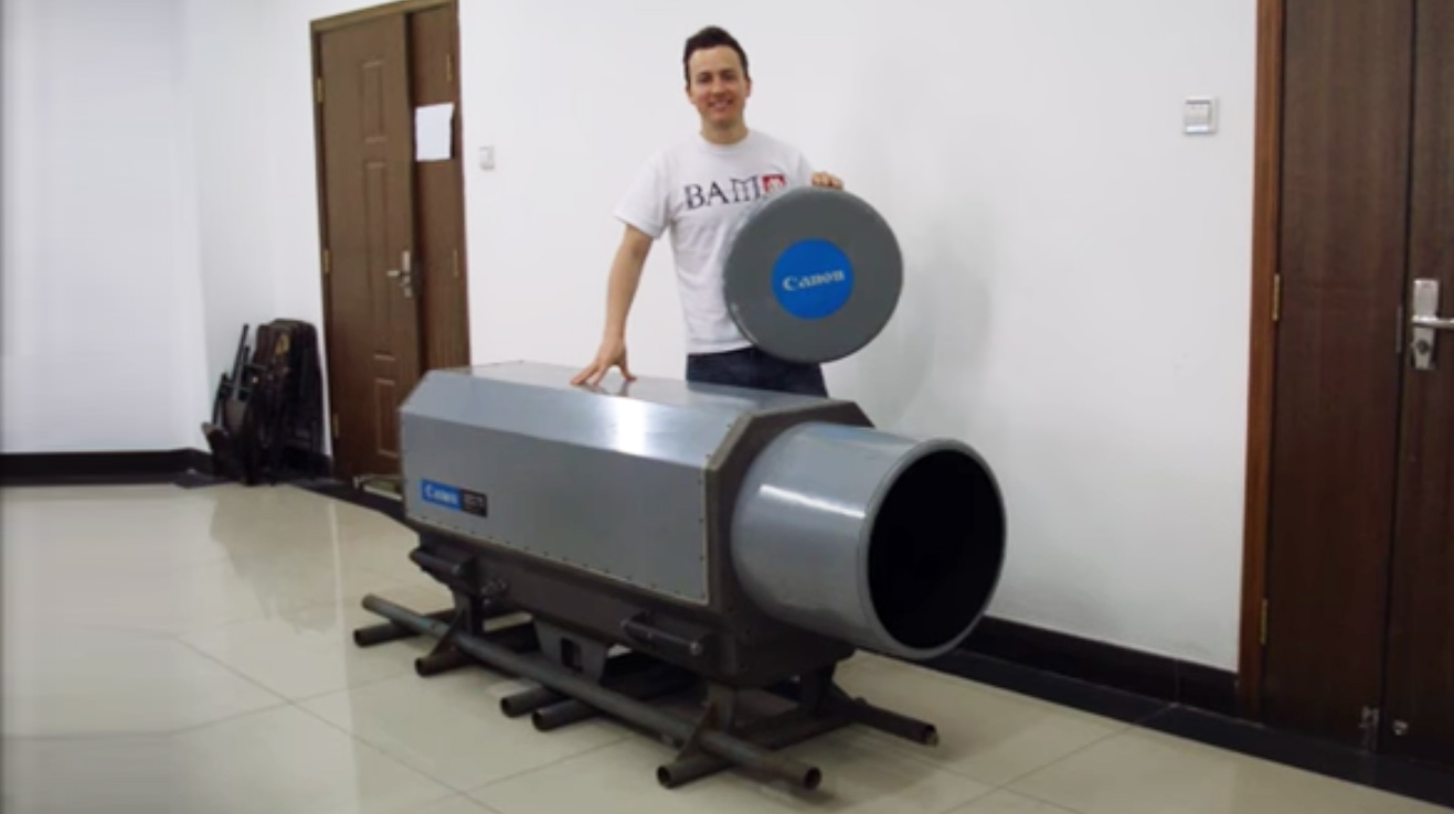 عدسة كانون 5200mm للبيع على موقع إيباي