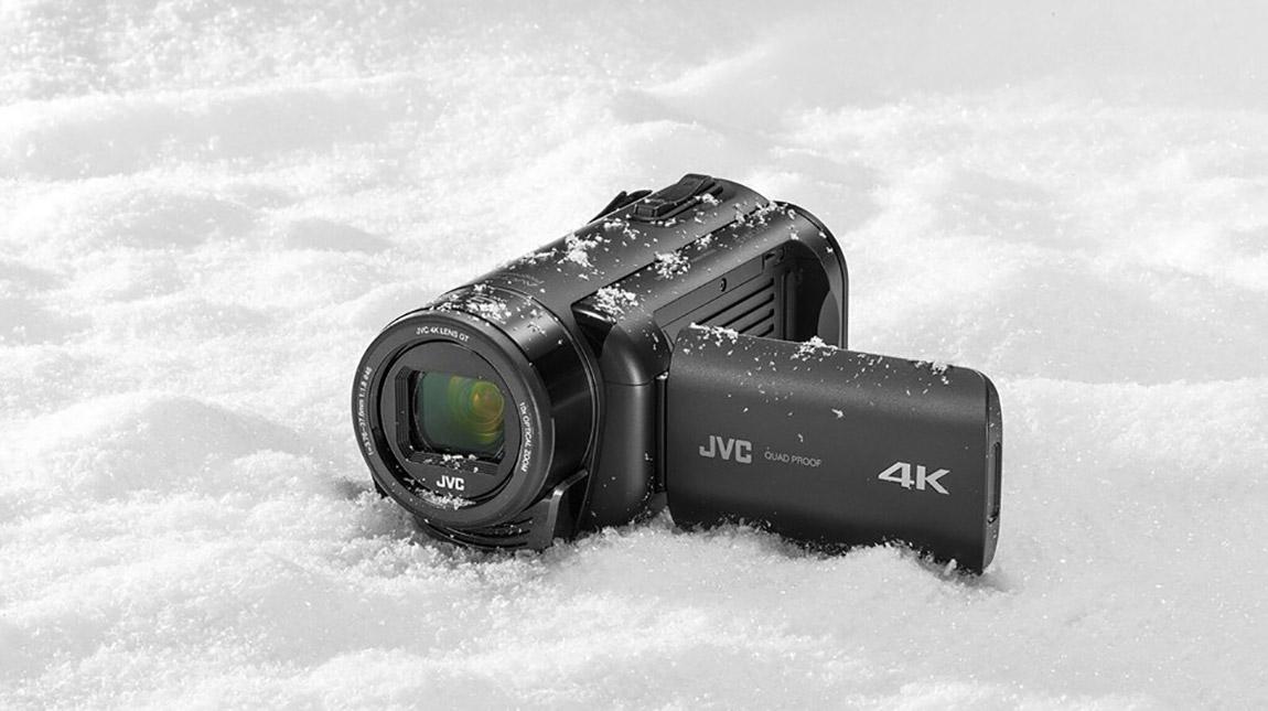 اطلاق كاميرات جي في سي Everio GZ بجودة 4K