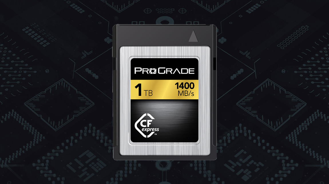 اول بطاقة ذاكرة CFexpress بحجم 1 تيرا بايت في العالم
