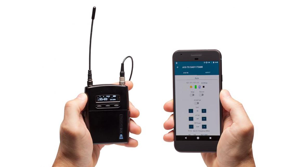 الاعلان عن ميكروفون A10 اللاسلكي من Sound Device