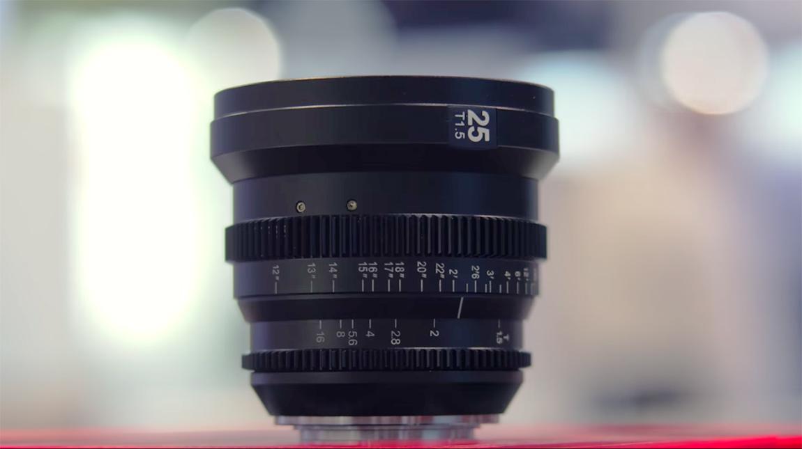 اطلاق سلسلة عدسات Cine Micro Primes السينمائية من SLR Magic