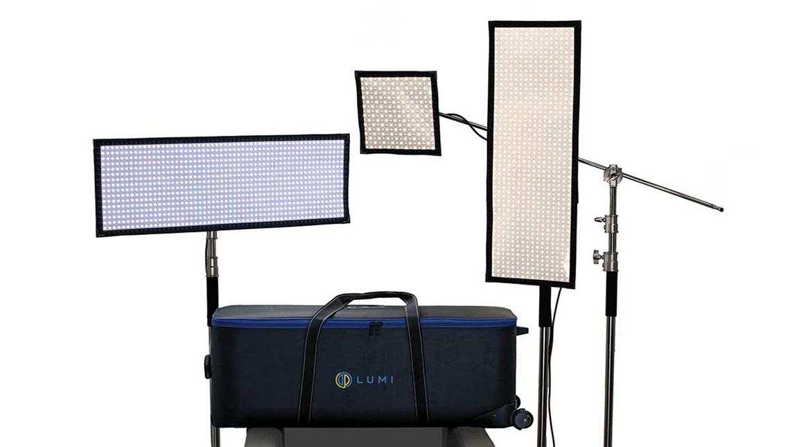 لوحة اضاءة LED جديدة من DP Lumi قابلة للطي