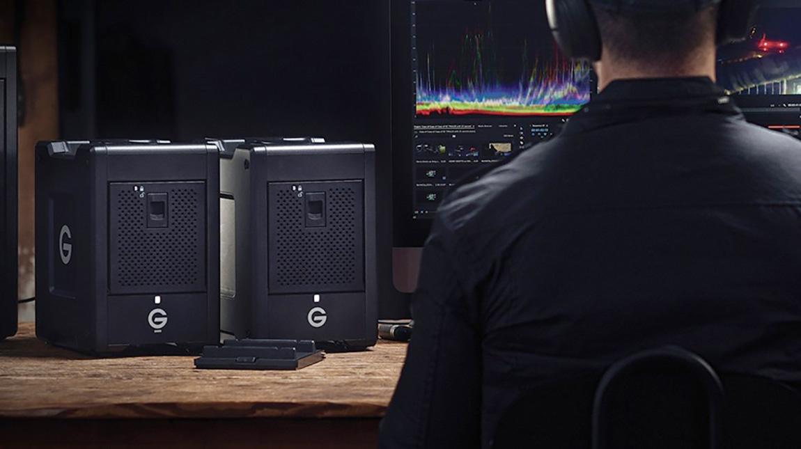 اطلاق وحدة التخزين G-SPEED 8-Bay Thunderbolt 3 SSD RAID