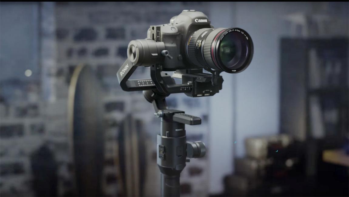 اطلاق دي جي اي Ronin-S اداة تثبيت الكاميرا لصناع الافلام