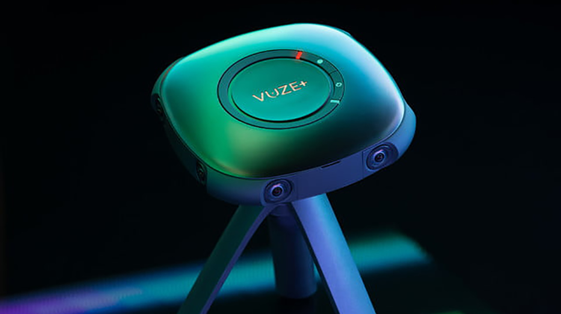الاعلان عن كاميرة Vuze+ لتصوير الواقع الافتراضي بجودة 4K