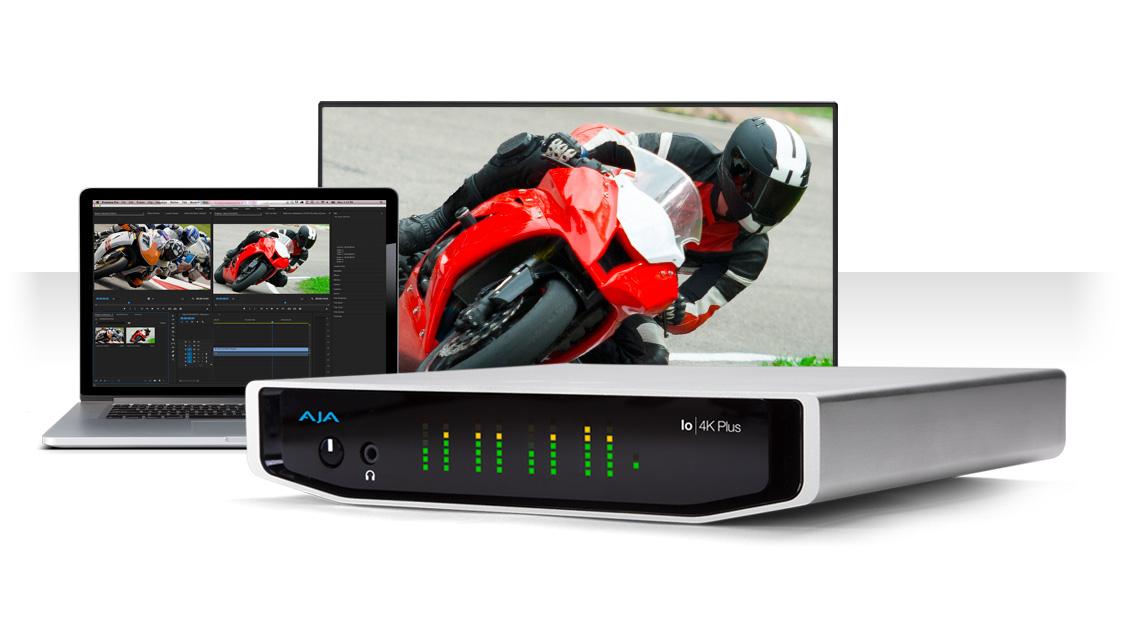 الاعلان عن Io 4K Plus جهاز التقاط وبث الفيديو من AJA