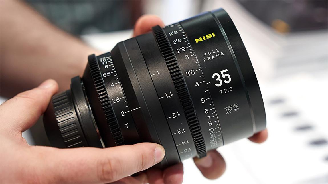 الاعلان عن سلسلة عدسات NiSi F3 السينمائية لكاميرات فل فريم