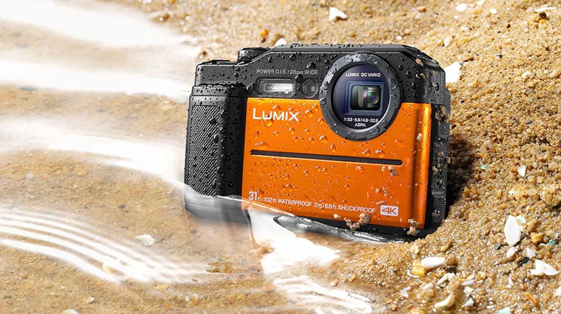 كاميرة باناسونيك Lumix DC-TS7 بجودة 4K ومضادة للماء