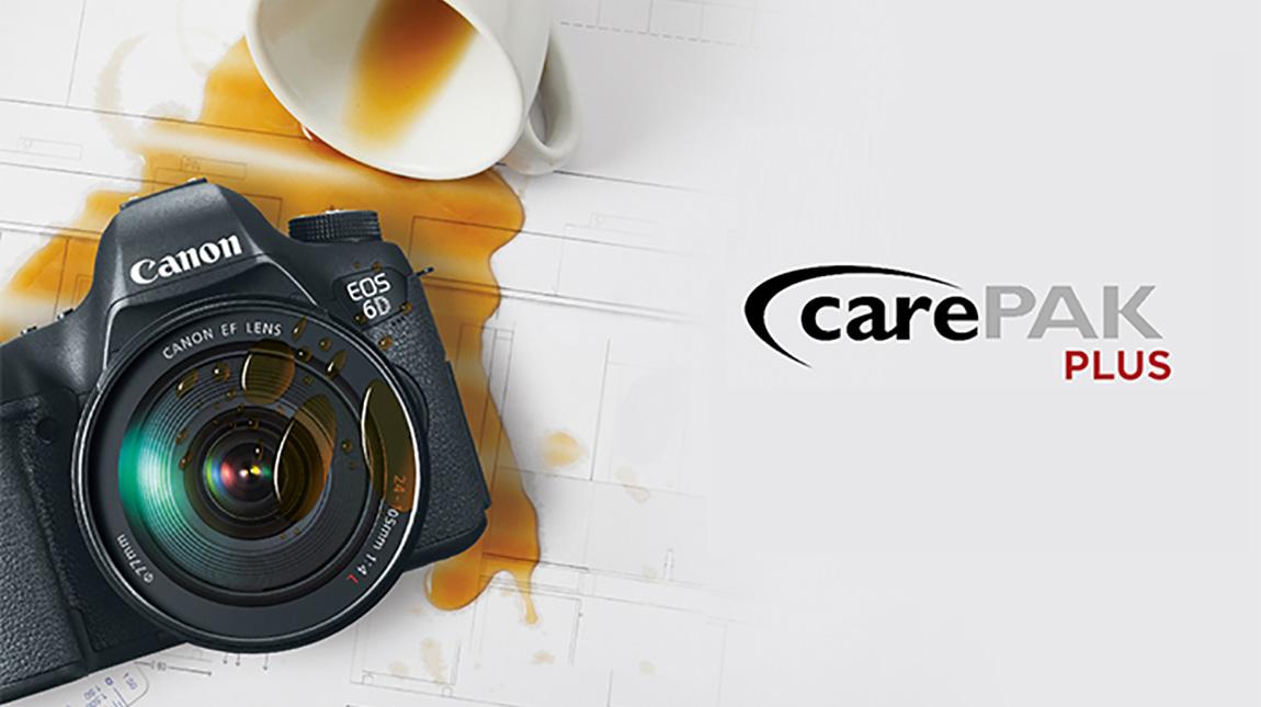 كيف يمكنك الاستفادة من برنامج CarePAK من كانون لحماية معداتك