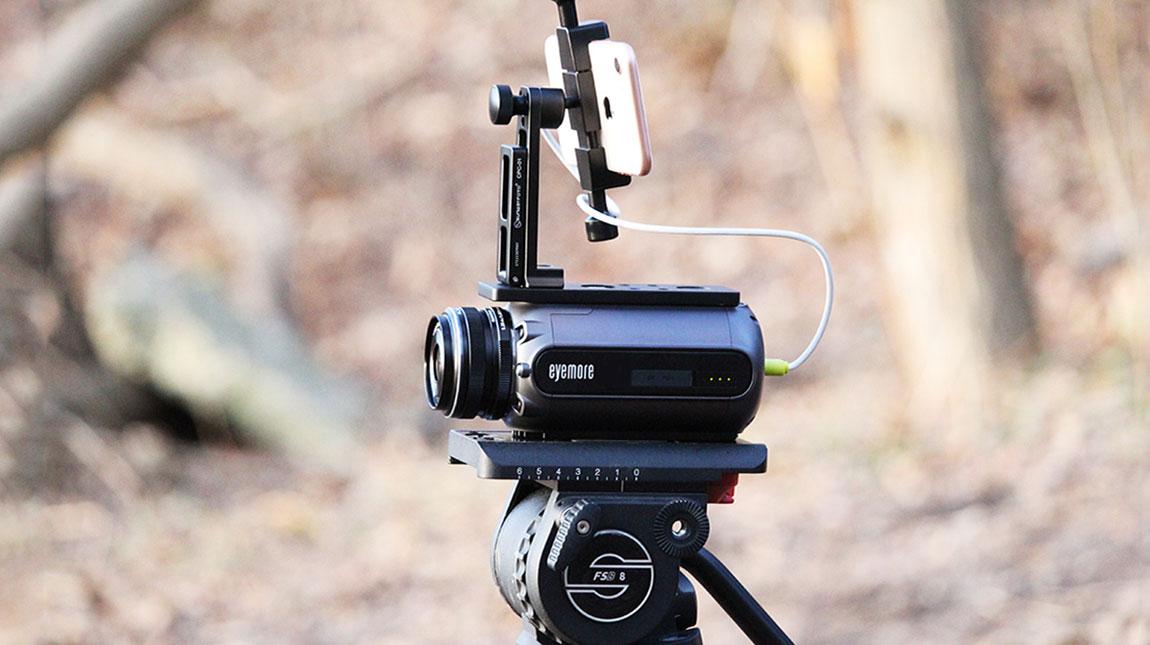 اداة Eyemore S1 لتعزيز اداء كاميرة آيفون