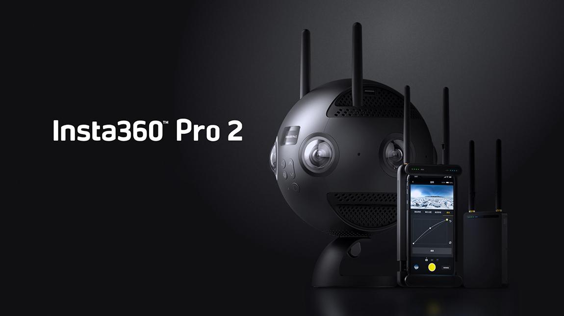 الاعلان عن كاميرة Insta360 Pro 2 لتصوير 360 درجة بجودة 8K