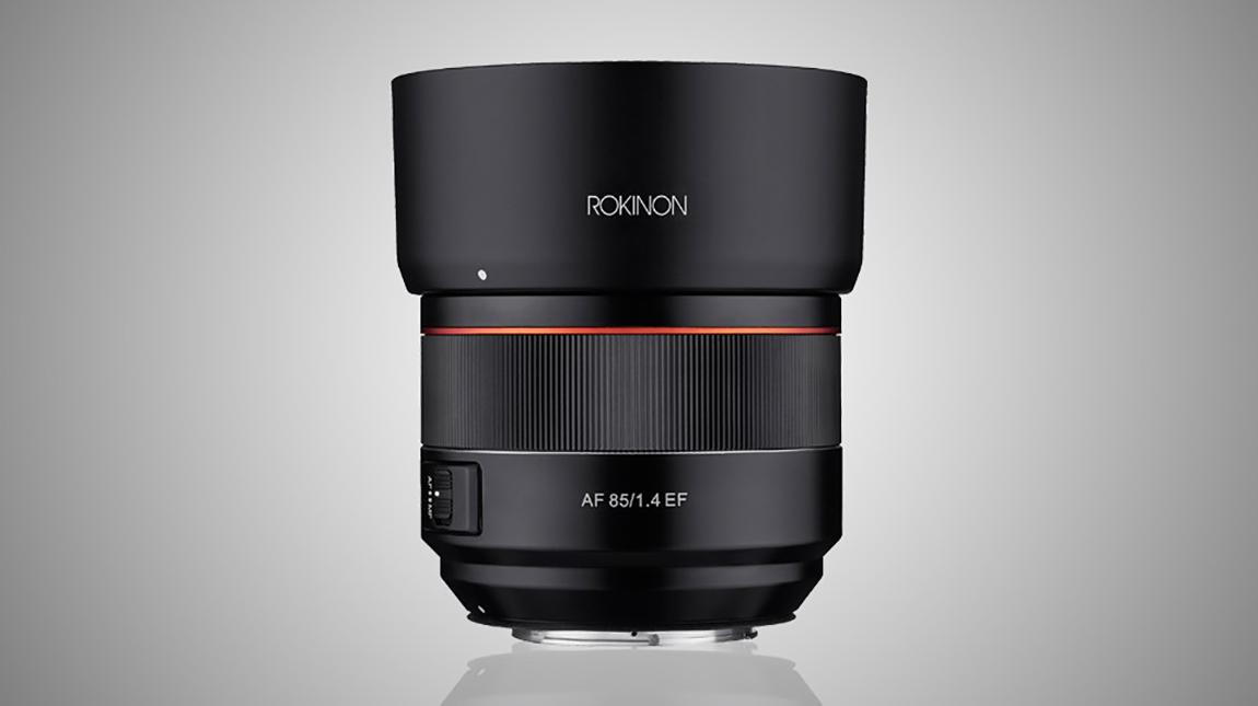 عدسة Rokinon 85mm ذات التركيز التلقائي لتصوير البورتريه