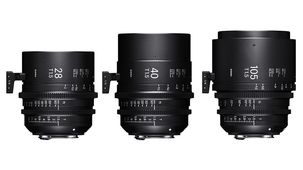 سيجما تضيف 3 عدسات جديدة الى خط SIGMA Cine Primes
