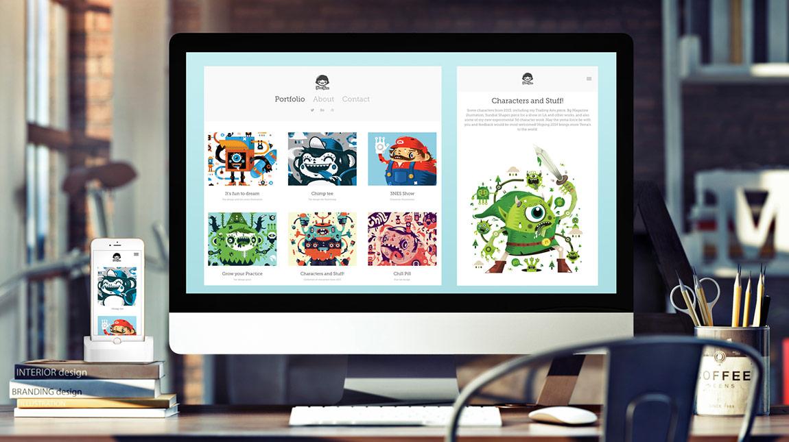 إطلاق ادوبي Portfolio لتصميم المواقع وعرض اعمال الجرافيك