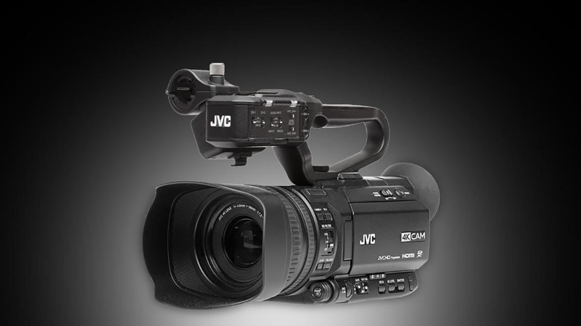 كاميرا JVC GY-HM250 للبث المباشر والتصوير بجودة 4K
