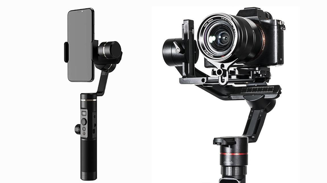 سلسلة مانع اهتزاز الكاميرا من Feiyutech للهواتف والكاميرات الرقمية