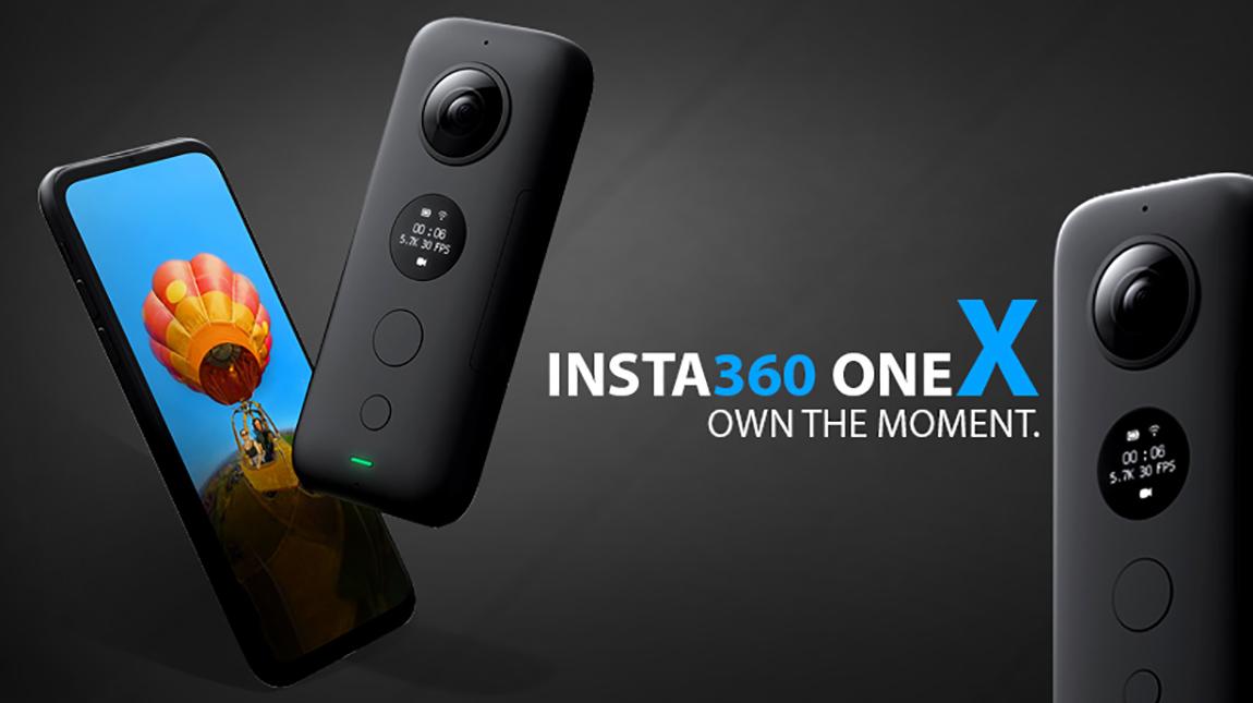 كاميرا ONE X لتصوير فيديو 360 درجة بجودة 5.7K