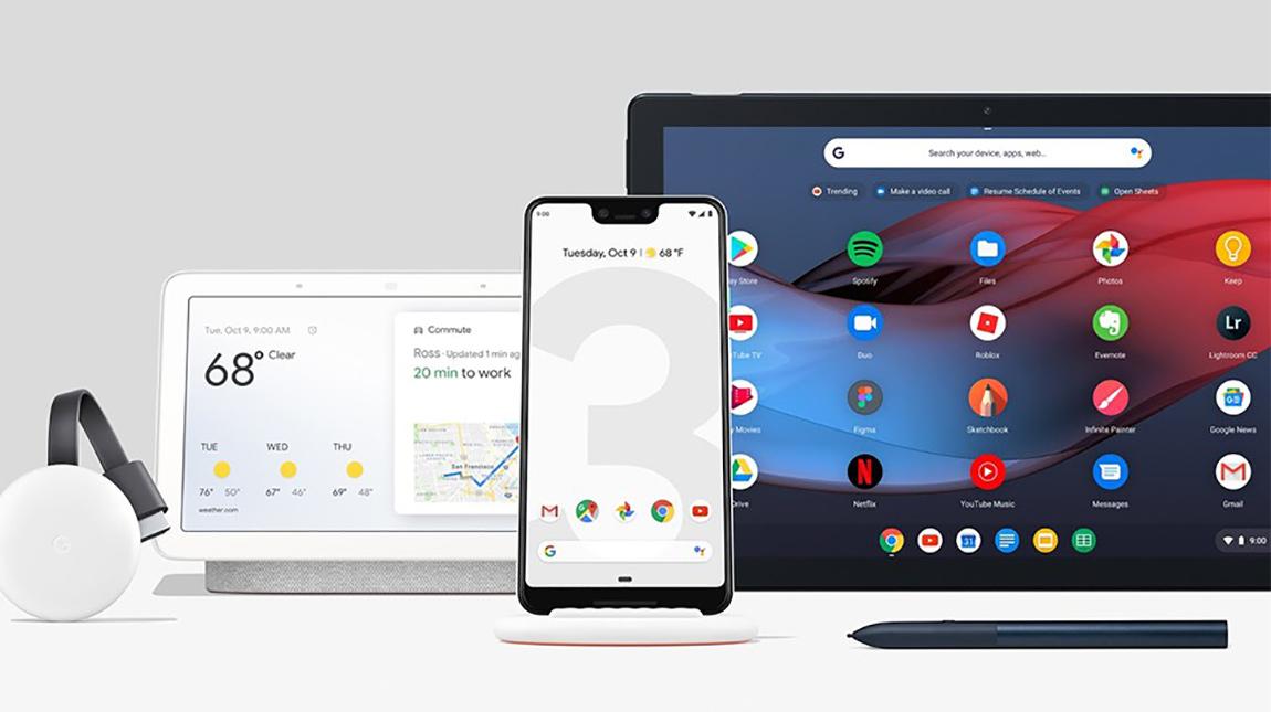 جوجل تعلن عن هاتف Pixel 3 بالإضافة الى Pixel Slate و Home Hub