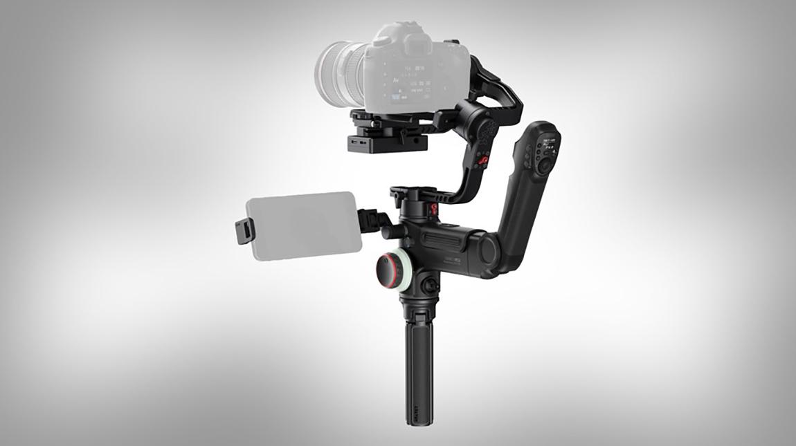 مانع اهتزاز الكاميرا Crane-3 Lab المبتكر والثوري من Zhiyun-Tech