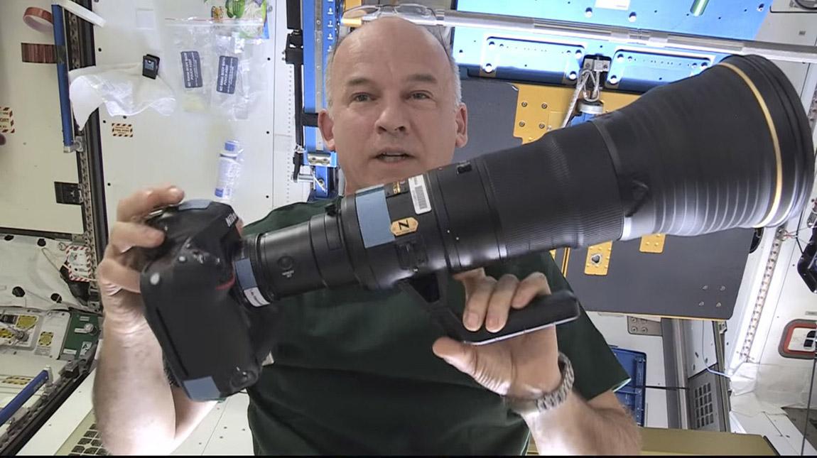 محطة الفضاء الدولية تستلم معدات نيكون بكلفة شحن خيالية