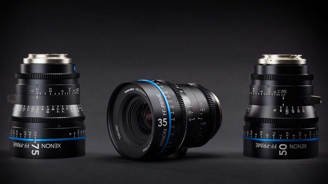 عدسات Xenon FF-Prime من شنايدر لكاميرات 4K فل فريم