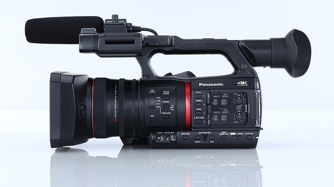 باناسونيك AG-CX350 كاميرا مخصصة لتصوير الفيديو بجودة 4K
