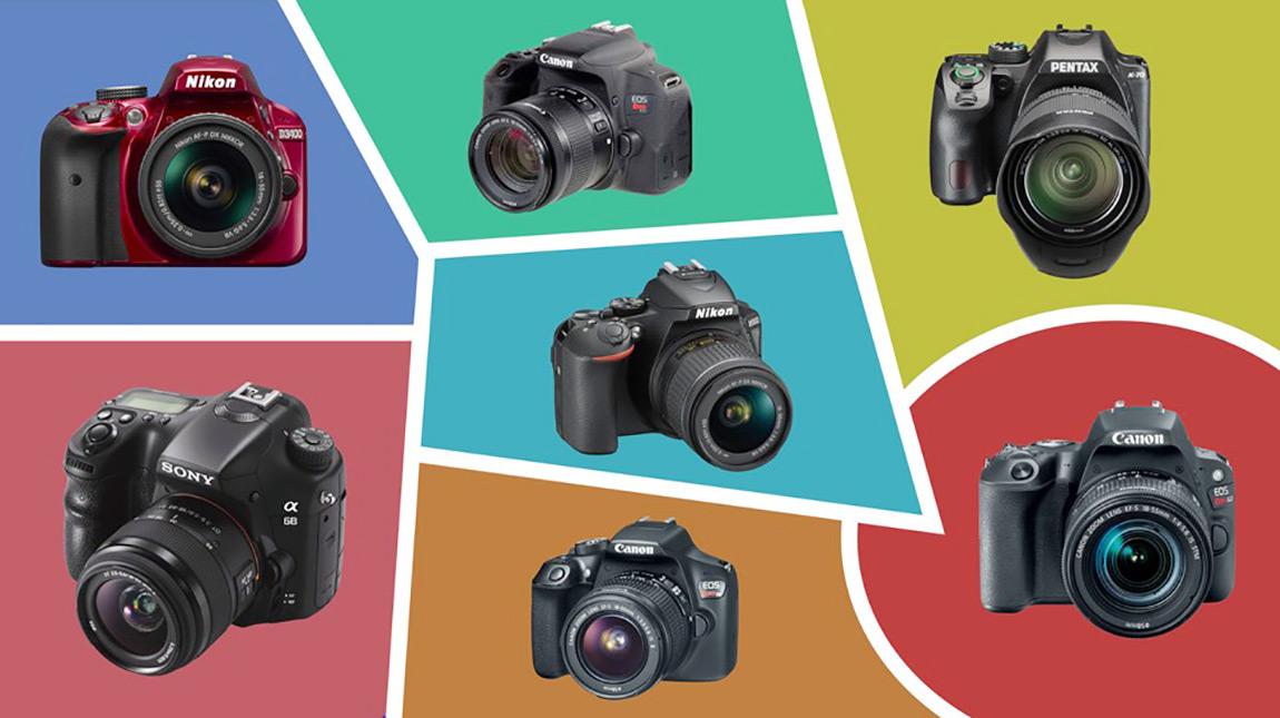 افضل 7 كاميرات DSLR ننصح بها للمبتدئين