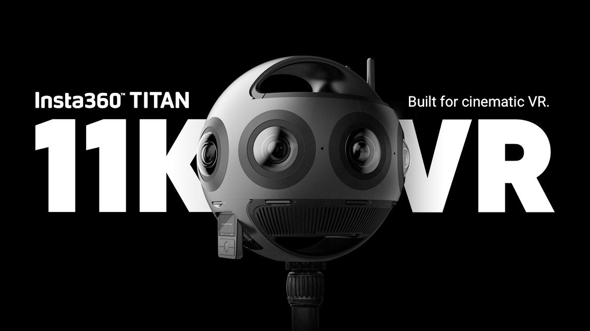 كاميرا Insta360 Titan لتصوير الواقع الافتراضي بجودة 11K