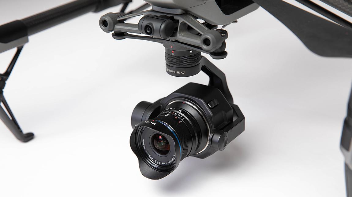 الإعلان عن LAOWA 9mm عدسة واسعة الزاوية لطائرات DJI