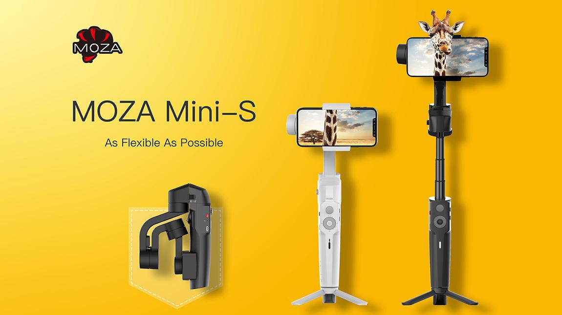 الكشف عن جمبول MOZA Mini-S للهواتف الذكية | Creative School Arabia