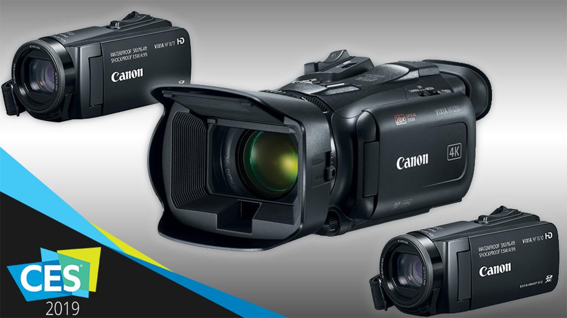 كانون VIXIA | إطلاق مجموعة من كاميرات الفيديو بجودة 4K